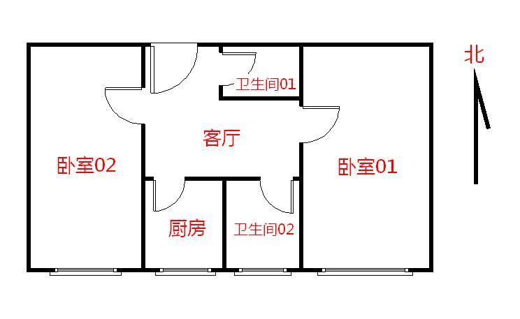 【朝阳区红庙10号线呼家楼西里2居室】自如网