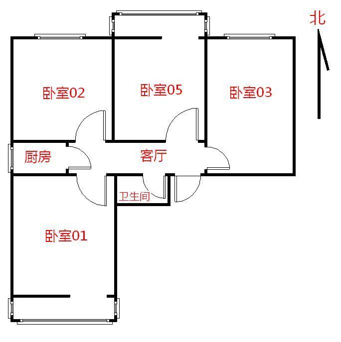 【朝阳区红庙6号线延静西里4居室】自如网