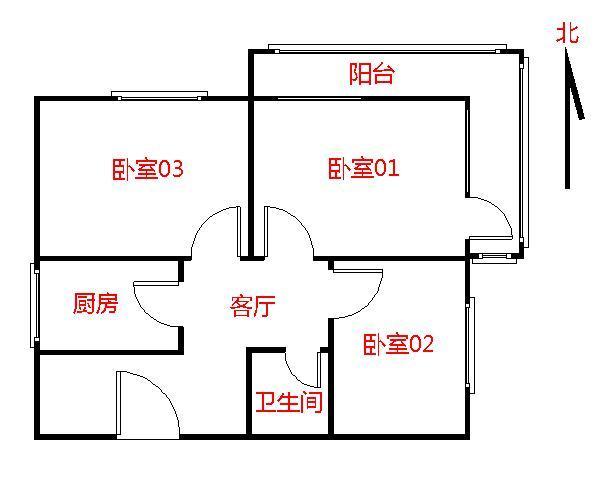【朝阳区红庙6号线金台里3居室】自如网