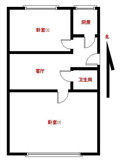 【朝阳区红庙1号线慈云寺2居室】自如网
